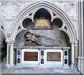 SX9292 : Tomb of Dorothy, Lady Dodderidge by Rob Farrow