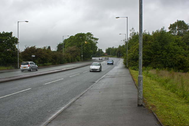 The A58 Beaumont Road