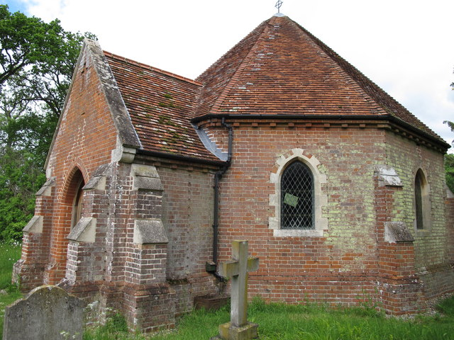 Sotterly Chapel from the south east
