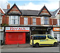 ST3287 : Royals takeaway, Corporation Road, Newport by Jaggery