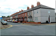 ST3288 : Northern end of Lennard Street, Newport by Jaggery