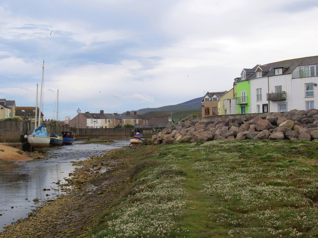 By the Lazy Haverigg Harbour