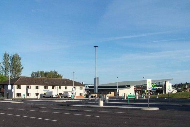 Rivington Services, M61 Southbound, near Bolton -1