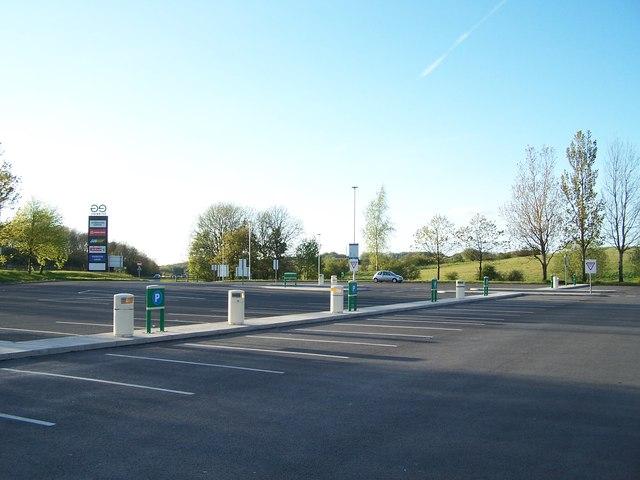 Car Park, Rivington Services, M61 Southbound, near Bolton