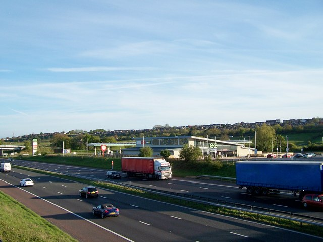 Rivington Services, M61 Northbound, near Bolton