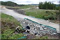 NM8807 : Culvert on West Loch Awe Timber Haul Route by Patrick Mackie
