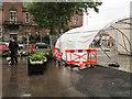 SJ9494 : Rainy day on Hyde Market by Gerald England