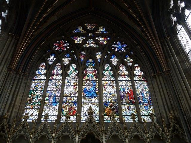 East Window Lady Chapel Exeter 169 Rob Farrow Cc By Sa