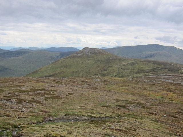 The end of the ridge walk