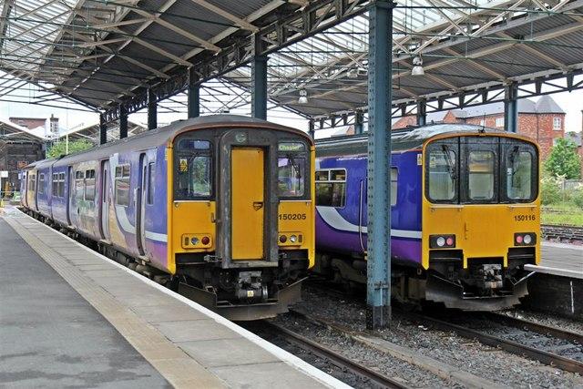 Sprinter units, Chester Railway Station