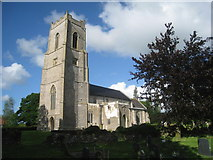 TG0826 : St. Andrew's, Wood Dalling by Jonathan Thacker