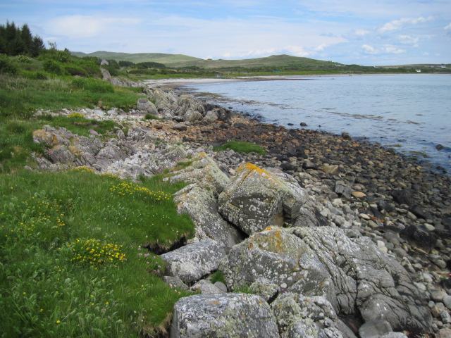 Shoreline towards Corran
