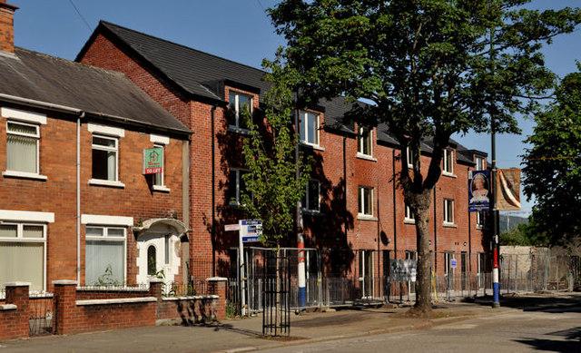 New houses, Ballymacarrett, Belfast