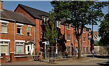 J3574 : New houses, Ballymacarrett, Belfast by Albert Bridge
