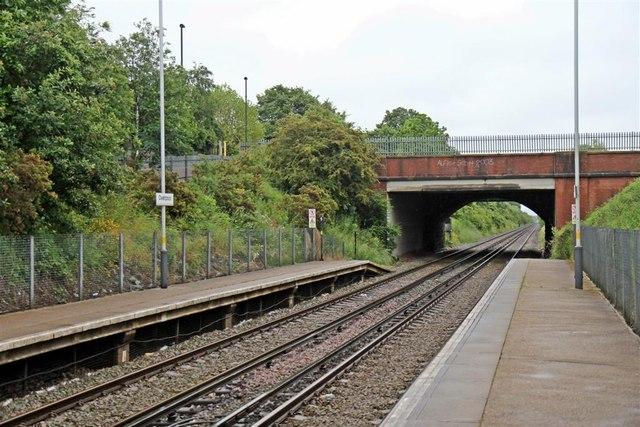 Bridge, Overpool Railway Station