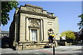 SE3055 : Carnegie Library, Victoria Avenue by Roger Templeman
