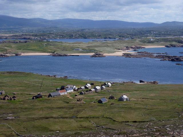 View over Owey