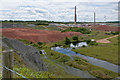 TL2497 : Hanson's Kings Dyke brickworks, Whittlesey by Julian Dowse
