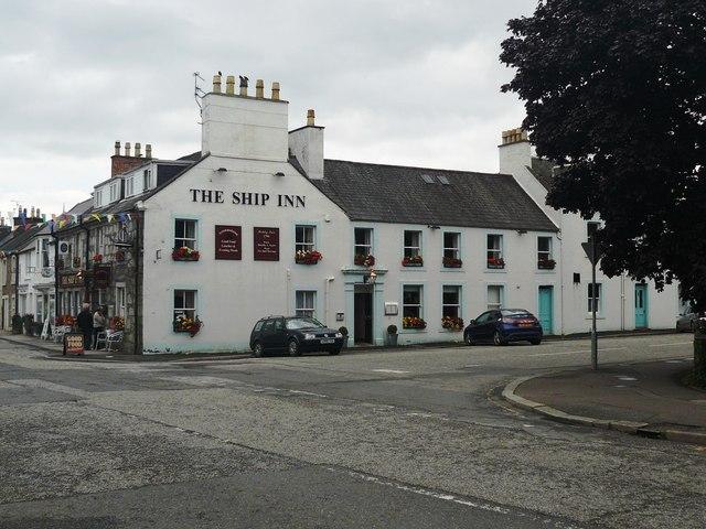 The Ship Inn Gatehouse of Fleet