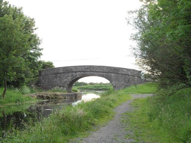 Bonynge Bridge on the Grand Canal in Co. Kildare