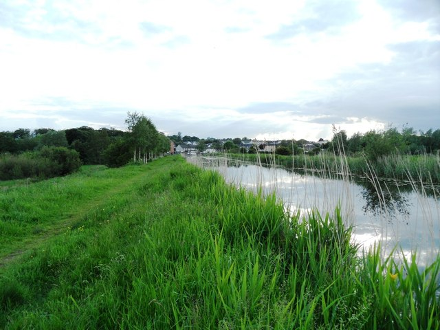 Grand Canal east of Robertstown, Co. Kildare