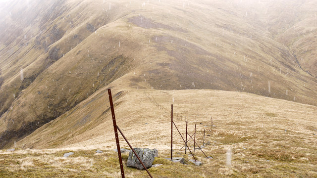 North-east ridge of Beinn na h-Eaglaise