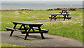 J5370 : Picnic tables, Cunningburn near Newtownards by Albert Bridge