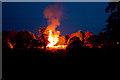 SO5074 : Diamond Jubilee bonfire by Ian Capper