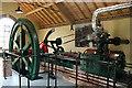ST6416 : Sherborne Steam and Waterwheel Centre: Hindley steam engine by Martin Bodman