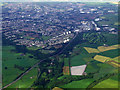 NS6656 : East Kilbride from the air by Thomas Nugent