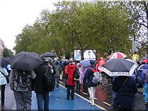 TQ2977 : Flotilla Crowd by Gordon Griffiths