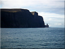HY1700 : The Old Man of Hoy and St John's Head by John Lucas