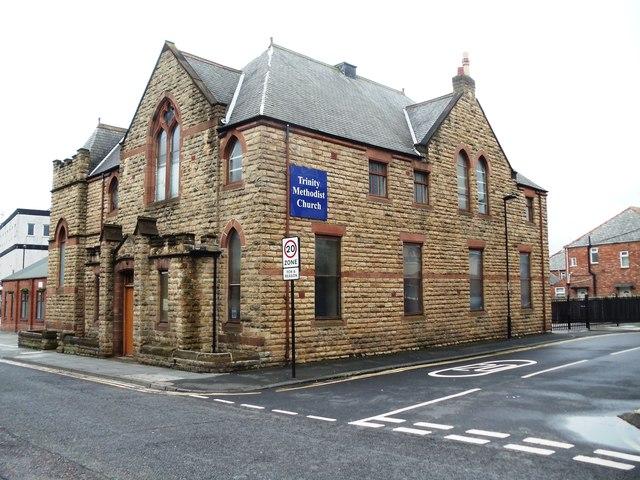 Trinity Methodist Church, Station Road, Wallsend