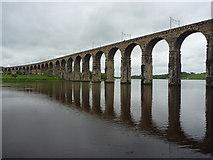 NT9953 : Coastal Berwickshire : The Royal Border Bridge by Richard West