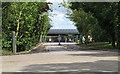 TM4197 : Entrance to M Gaze & Co Waste Management Plant by Roger Jones