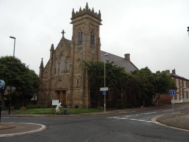 St John's Presbyterian Church, Beach Road, South Shields