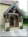 SD5273 : St Mary's, Borwick, Porch by Alexander P Kapp