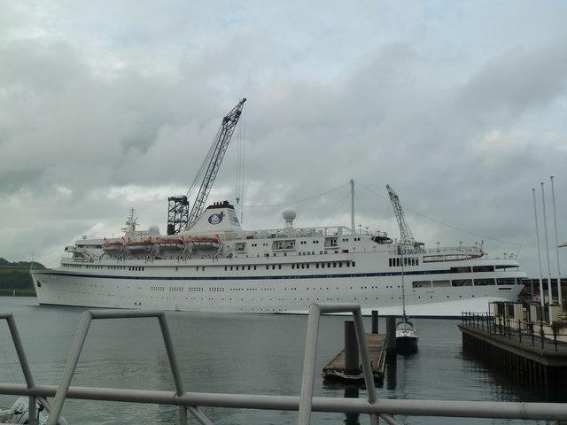 Falmouth Docks - MV Athena