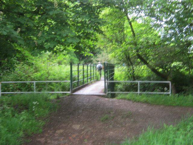 Footbridge over Coxhoe Beck