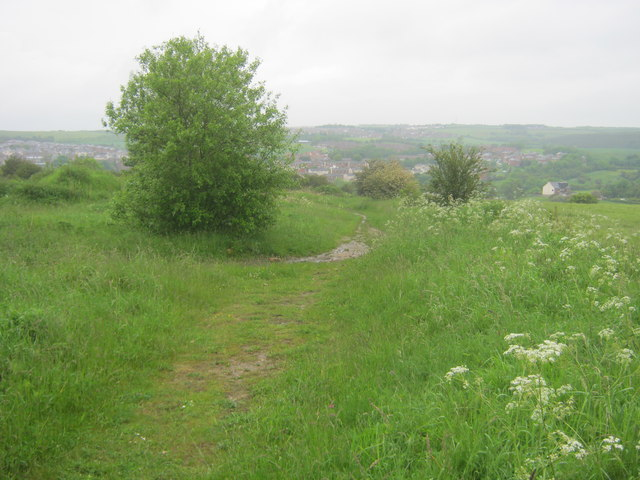 Footpath to Kelloe from Raisby Quarry