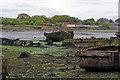 SU6100 : Gosport - Forton Lake Wreck by Chris Talbot