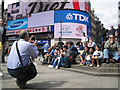 TQ2980 : Photographing the family at Piccadilly Circus by Robin Stott