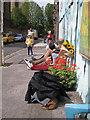 TQ3382 : Coffee break in Ezra Street E2 by Robin Stott