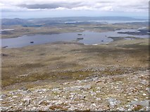 NG9779 : West side of Beinn a' Chaisgein Mor by Sally