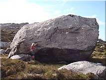 NH0079 : Large glacial erratic boulder by Sally