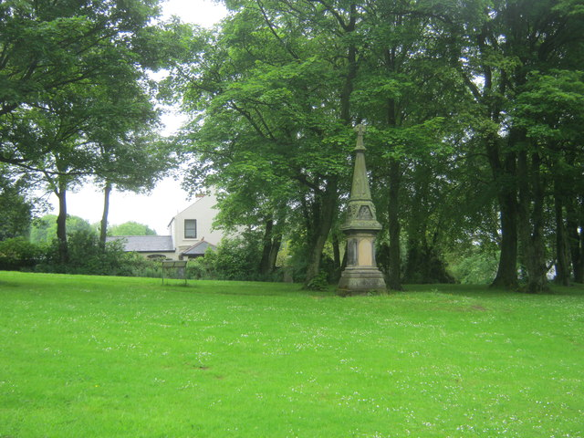 Memorial to the victims of Trimdon Grange mining disaster