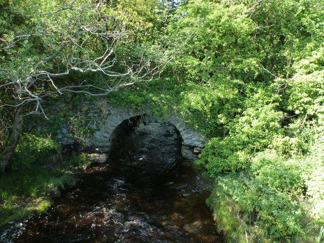 Amcient bridge at The Lough Head