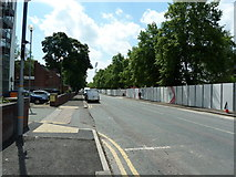 SJ8195 : Warwick Road, Stretford by Alexander P Kapp