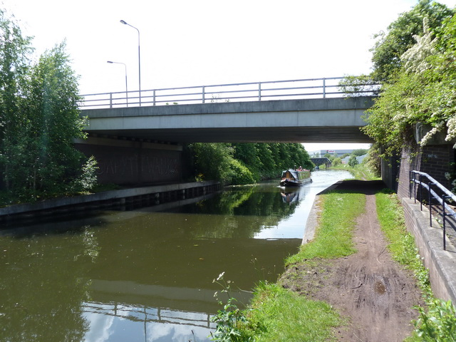 Bridgewater Canal with Europa Gate above