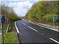 SS7986 : Slip road at M4 motorway junction 38 near Margam by Jaggery